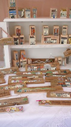 Sally's Shed - my stall at a local designer makers market in Lichfield