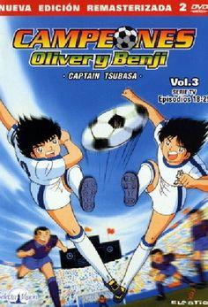 Serie anime basado en el popular manga homónimo creado por Yoichi Takahashi en 1981. La historia comienza cuando Tsubasa Ozora (Oliver), de 12 años de edad, se muda a Shizuoka. El joven Tsubasa tiene la ilusión de jugar con el equipo más famoso de esa ciudad: el Shutetsu, en el cual milita el mejor portero de la liga nacional: Genzo Wakabayashi (Benji). Captain Tsubasa, Shizuoka, World Cup, Anime, Childhood, Soccer, Comic Books, Popular, Manga