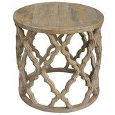 Sirah Side Table by S & G Furniture. Get it now or find more Side Tables at Temple & Webster. End Tables For Sale, Coffee Tables For Sale, Round Coffee Table, Round Side Table, Side Tables, Homewares Online, Australia Living, Living Styles, Salvaged Wood