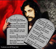 RUSH 10 Commandments