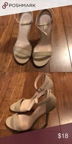 2c5c63dbe Shop Women s Cathy Jean Cream Tan size Heels at a discounted price at  Poshmark.
