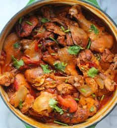 Easy Stove Top Chicken Stew