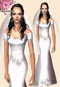 Liana Sims 2 - Preview - Women's clothing - Bridal -
