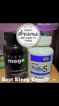 Have an occasional or maybe even chronic problem with falling to sleep at night, or getting a good quality, restful sleep? This combination has worked for me and many others... ProBio5 and MegaX. It's just one of the many ways that Plexus may enhance your quality of life through health and wellness. www.TomBradleyPlexus.com