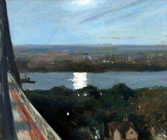 Edward Hopper (1882-1967) Blackwell's island (1911) Oil on canvas 24x29 in