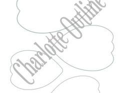 Flor de papel DIY plantillas-SVG corta por CatchingColorFlies