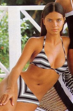 Looking For Cheap Women Bikinis Online Wholesale,Yoins Offers High Quality Bikinis On Sale At Discount Prices. Adriana Lima Body, Adriana Lima Young, Adriana Lima Victoria Secret, Victoria Secret Fashion, Adriana Lima Bikini, Latin Women, Vs Models, Actrices Hollywood, Slip