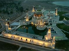 Um Al-Quraa Mosque in Baghdad, Iraq