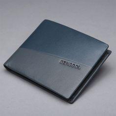 Men's Leather Wallet Purse Bifold Clutch ID Card Holder Handbag Billfold Slim