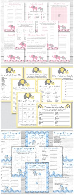 Elephant Themed Party Planning, Ideas & Supplies | Baby Showers & Birthday Parties | PartyIdeaPros.com