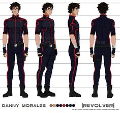 Danny's Final Turnaround by Jay-Jacks.deviantart.com on @DeviantArt