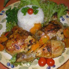 Kelkáposztaágyon sült csirkecomb zöldségekkel Recept képpel - Mindmegette.hu - Receptek