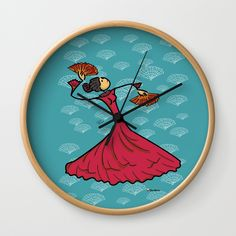 Buy Flamenco dancer Wall Clock by giuseppelentini. Worldwide shipping available at Society6.com. Just one of millions of high quality products available.