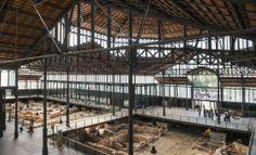 EL BORN antic mercat central de Barcelona  ara museu ,si troben les ruïnes del setge a Barcelona de 1714