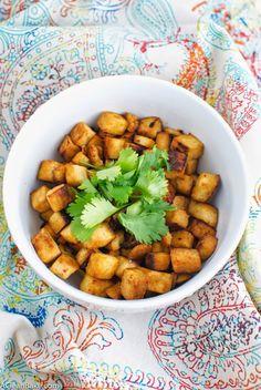 Vegan 5 Ingredient Baked Tofu