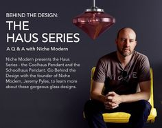 Our #Creative Director, @jeremypyles, did a Q&A with @lumensdotcom about the nostalgia-inspired #Haus Series! Take a trip inside his head and discover more on our blog! Thanks for the love, #Lumens!