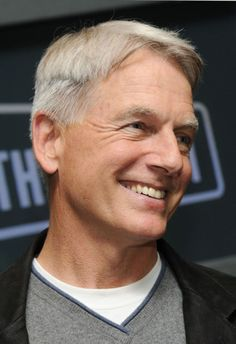 Mark Harmon in Mark Harmon Of Navy CIS Photocall