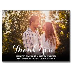 THANK YOU | MODERN POSTCARD