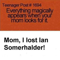 """The candyman supposedly appears when you say his name 5 times so...(clears throat)... """"Ian Somerhalder. Ian Somerhalder. Ian Somerhalder. Ian Somerhalder. Ian Somerhalder!!"""" Why is this not working? lol"""