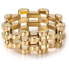 Michael Kors Open Deco Link Bracelet ($175) via Polyvore