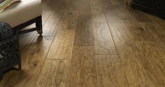 Market & Main - Wide plank, hand scraped engineered wood flooring by Real Wood Floors