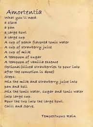 Resultado de imagen de harry potter potions recipes
