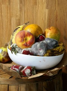 Fresh fruit platter, sauna sun dried