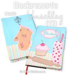 Backrezepte-Umschlag