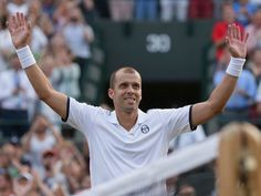 Gilles Muller upsets Rafael Nadal in longest match of this year's Wimbledon that included a 28-game fifth set marathon - 16th-ranked Gilles Muller upset fourth-ranked Rafael Nadal in Wimbledon on Monday in the longest match of the tournament this year.  The 34-year-old Muller of Luxembourg went up two sets on Nadal before Nadal clawed back to force a fifth set.  The fifth and final set was a marathon, as Muller and Nadal went back and forth for over an hour. Muller eventually pulled it out…