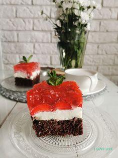 I LOVE LIFE - Blog Kulinarny Love Life, My Love, Panna Cotta, Cheesecake, Ethnic Recipes, Blog, Dulce De Leche, Cheesecakes, Blogging