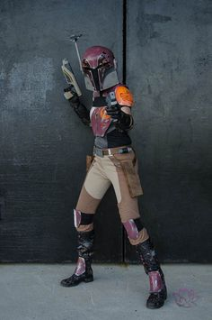 This Star Wars Rebels Sabine Cosplay Is Fantastic
