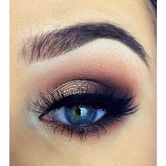 Bigger Eyes With Makeup Tricks ❤ liked on Polyvore featuring beauty products, makeup and eye makeup