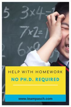 I was thrilled to be done with school (until I got the hang of the study thing and went back for multiple degrees). I didn't know having kids meant I had to go back to 5th grade math!!! How can we help with homework, if we have no clue what the teach