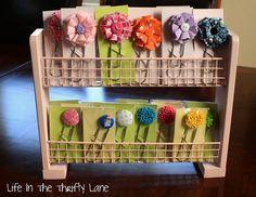 Craft show display idea