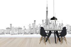Avery Tillmon - New York Skyline - Wall Mural & Photo Wallpaper - Photowall