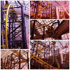 El Loco at Adventuredome at Circus Circus Las Vegas: El Loco Roller-coaster at Adventuredome at Circus Circus Las Vegas
