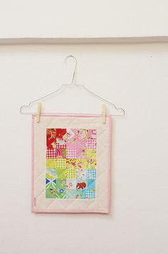 Mini Doll Quilt by ellis & higgs, via Flickr
