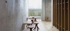 Stools by Motomi Morii, Nikari production/ Kokkola PortTower Scandinavian Modern, News Design, Architecture, Gallery, Stools, Finland, Room, Furniture, Home Decor