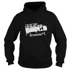 Awesome Tee I play the keyboard Tshirt Programmer T-Shirt