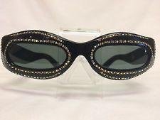 1950's Le Masque Sunglasses Jeweled/Rhinestones Glitzy RAYBERT RARE Retro