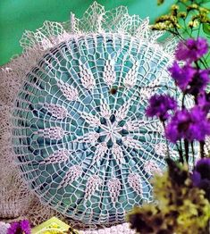 crochet Lace Pillow Cover - free Pattern