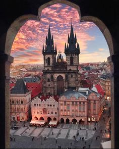 Prague, Czech Republic. From Reddit.