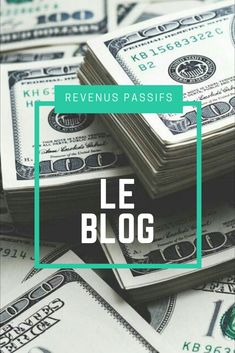 Pour tout savoir les les revenus passifs.Comment générer des revenus résiduels avec un business en ligne? Comment gagner de l'argent avec l'affiliation... Blog, Money, Personalized Items, Earning Money, Affiliate Marketing, Fishing Line, Silver, Blogging