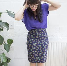 How to Make a Beautifully Easy Stretch Pencil Skirt - Tuts+ Crafts & DIY Tutorial
