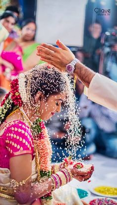 entrenched in tradition, this beautiful shot of the bride mid ceremony  Ladies candid is you at your best with your emotions   #IndianWedding #photography #ideas   Curated by Witty Vows - The ultimate guide for the Indian Bride   www.wittyvows.com