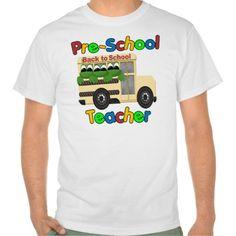 Pre-School Teacher T Shirt, Hoodie Sweatshirt