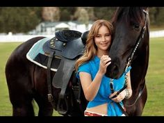 Szép hölgyek és lovak//Beautiful lady and horses HD