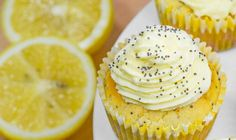 Some days you just need a little treat without the guilt, enter our Keto Lemon Poppy Seed Cupcakes (or Muffins). These low-carb muffins are fluffy and moist Keto Cupcakes, Keto Cake, Lemon Dessert Recipes, Cupcake Recipes, Paleo Dessert, Low Carb Desserts, Low Carb Recipes, Atkins Desserts, Diabetic Recipes
