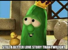 Veggietales is jut better at love stories<<let's face it, veggie tales is just better Best Love Stories, True Stories, Love Story, New Memes, Funny Memes, Hilarious, Funny Quotes, Stephanie Meyers, Silly Songs
