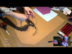 "Cosplay Work - ""How to make armor parts"" - Worbla tutorial (part 1) - YouTube"